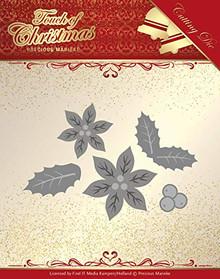 Precious Marieke- Touch of Christmas- Poinsettia Die- PM10187