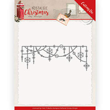 Amy Design Nostalgic Christmas Cutting Die - Hanging Snowflakes - ADD10224