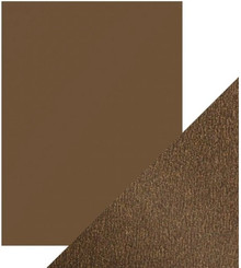 Craft Perfect Pearlescent Card - Glazed Chestnut - 5 Sheet Pack 92lb 9537E