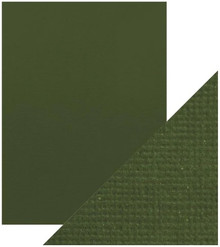 Craft Perfect Classic Card 8.5x11 Inches 10 Sheets - Avocado Green
