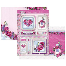 Hunkydory Crafts Peony Promise - 3pc Love Blossoms Topper Set