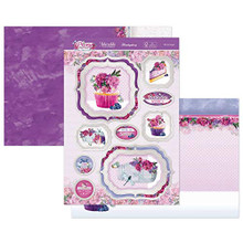 Hunkydory Crafts Peony Promise - Oh So Sweet - 3pc Topper Set