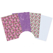 Hunkydory Crafts Peony Promise Printed Parchment - 16 Sheets (4 Each 4 Designs)