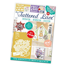Tattered Lace Magazine- Issue 61 (Includes Tattered Lace Die Bouquet)