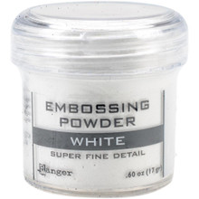 Ranger Embossing Powder 0.60 oz, White