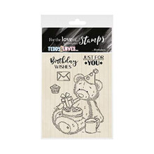 Hunkydory Crafts for The Love of Stamps - Teddy Loves... Birthdays