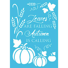 Imagination Crafts A4 Stencil- Autumn is Calling