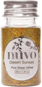 TONIC STUDIOS Nuvo Pure Sheen Glitter 1.2oz- Desert Sunset