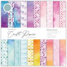 Craft Consortium Watercolours 12x12 Premium Paper Pad