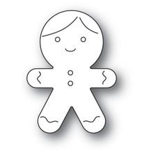 Memory Box 100% Steel Gingerbread Man Cookie Dis 94090