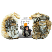 Lion Brand Yarn Go For Faux - Tiger
