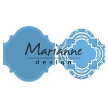 Marianne Design Cutting Die, Blue, Medium LR0593