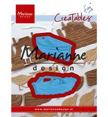 Marianne Design Cutting Die, Metal, Blue, Medium LR0594