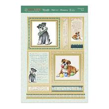 Hunkydory Dogs Life- Schnauzer & Boxer Luxury 3-Piece Topper Set DOG907