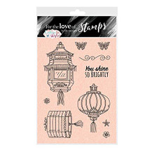 Hunkydory Crafts Eastern Wishes - for The Love of Stamps - Eastern Lights