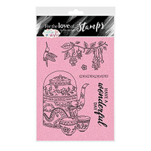 Hunkydory Crafts Eastern Wishes - for The Love of Stamps - Tea for Two