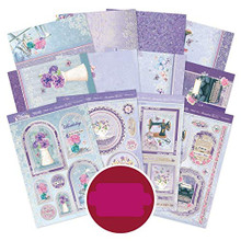 Hunkydory Crafts Violet Delights Luxury Topper Collection