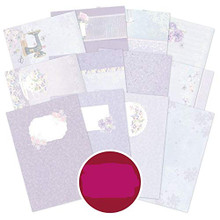 Hunkydory Crafts Violet Delights Luxury Card Inserts Collection