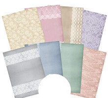 Hunkydory Crafts Adorable Scorable Pattern Pack - Delicate Lace - 350gsm