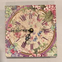 Live Stream Stamperia Hortensia Clock Class Kit