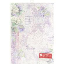 STAMPERIA INTERNATIONAL, A3 Rice Paper Hortensia Wallpaper DFSA3062