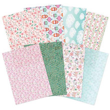 Hunkydory Crafts Eastern Wishes Printed Parchment - 16 Sheets (2 Each 8 Designs)