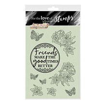 Hunkydory Crafts Filigree Flowers - for The Love of Stamps - Filigree Flowers - Violet