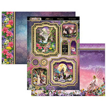 Hunkydory Crafts Land of Enchantment 3-Pc Topper Set - The Fairy Kingdom Mirri Magic Topper Set