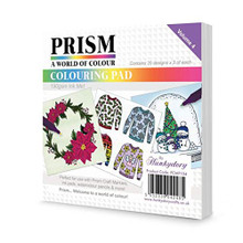 Hunkydory Prism A World of Color Coloring Pad- Volume 4