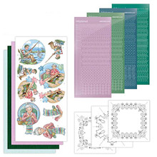 Find It Trading Dot and Do Card Kit 194 - Yvonne Creations - Knitting Fishing