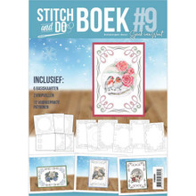 Stitch and do Book #9 with Embroidery Patterns & 3D Sheet STDOBB009