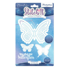 Hunkydory Crafts - Stitch It Fantastic Flutterbyes- Moonstone MSTONE255