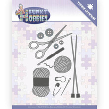 Yvonne Creations - Funky Hobbies - Knitting Cutting Dies