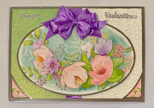 Live Stream Work Along Class Kit --In Full Bloom Valentines -- Makes 3