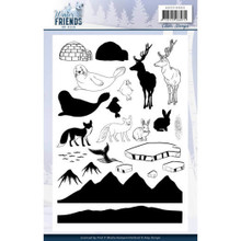 Clear Stamps - Amy Design - Winter Friends ADCS10065