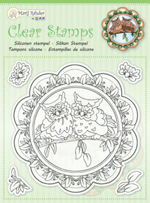 JEJE MRJ Clear stamps Owls- 5 Stamps 9.0054
