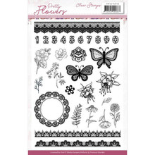 Precious Marieke - Pretty Flowers - Clear Stamps - Precious Marieke - Pretty Flowers