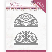 Precious Marieke - Pretty Flowers - Dies Lace Circle