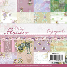 Find It Trading Precious Marieke Pretty Flowers 6x6 in Paperpack PMPP10029