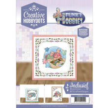 Find It Trading Creative Hobbydots Patterns -- Funky Hobbies 8 Patterns with 8 3-d Scissor-Cut Images