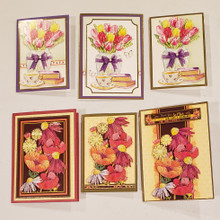 Live Stream Work Along Class Kit --Flourishing Florals Spring to Fall Card Kit -- Makes 6 Cards