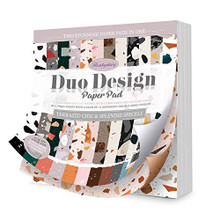 Hunkydory Crafts Duo Design Paper Pad - Terrazzo Chic & Splendid Speckle