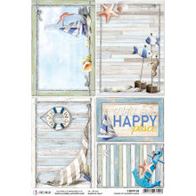 Ciao Bella Papercrafting Rice Paper Sound of Summer Cards CBRP108