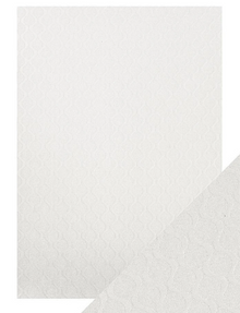 Craft Perfect - Speciality Card - Luxury Embossed - Pearl Ripple- A4(5/PK) - 230gsm - 9821e