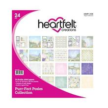 "Heartfelt Creations Double-Sided Paper Pad 12""X12"" 24/Pkg-Purr-FECT Posies"