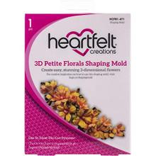 Heartfelt Creations Shaping Mold-3d Petite Florals