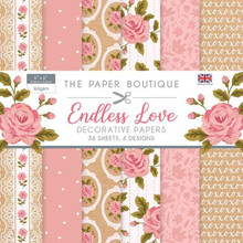 "The Paper Boutique for Endless Love 6"" x 6"" Paper Pad"
