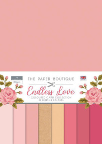 The Paper Boutique for Endless Love Colour Card Collection