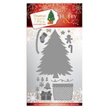 Hobby & Z - Christmas Tree Cutting Die - HENZOG008