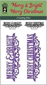 HOTP Merry & Bright Dies 4017443